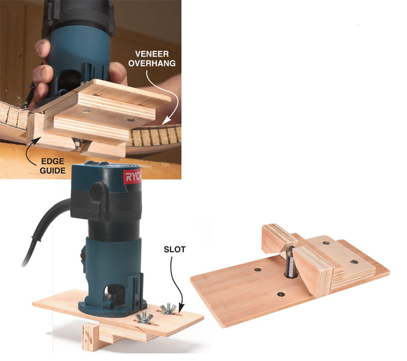 Trim the curved edges  sc 1 st  Popular Woodworking Magazine & How to Make Curved Doors: A Free DIY Curved Door Plan