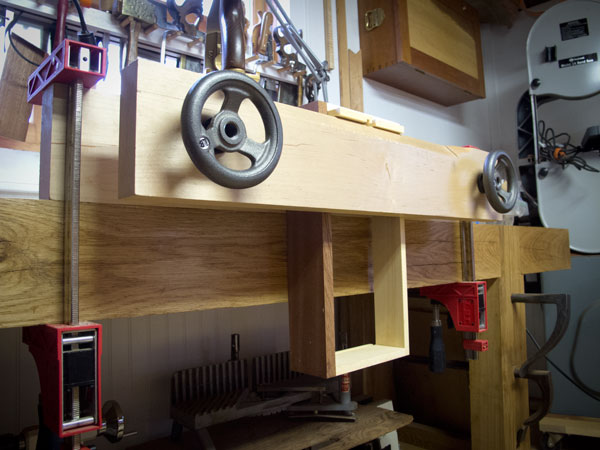 DIY Benchcrafted moxon vise