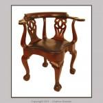 Newport corner chair.