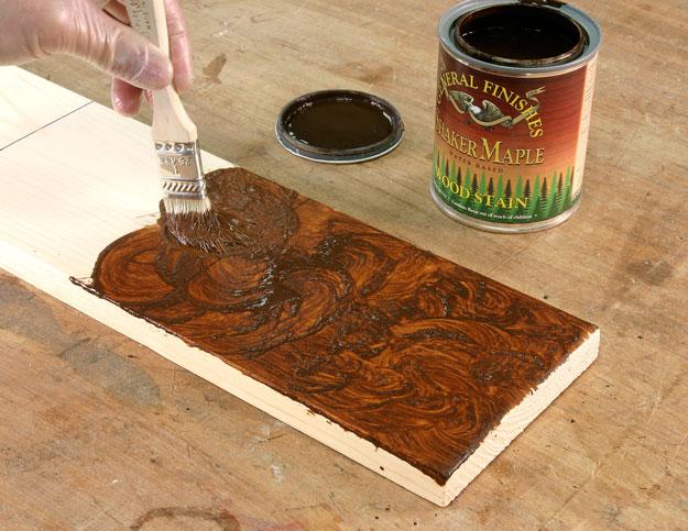 pumpkin pine pigment stain