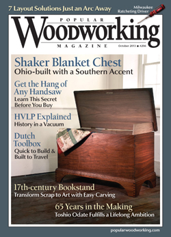 October 2013 Issue Popular Woodworking