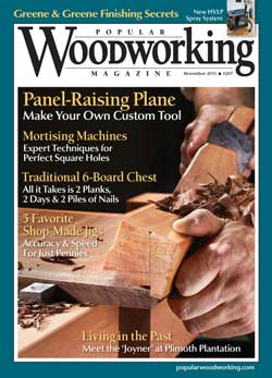November 2013 Issue Popular Woodworking