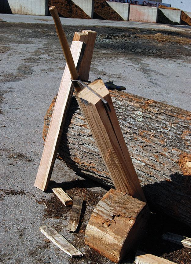 riving brake log