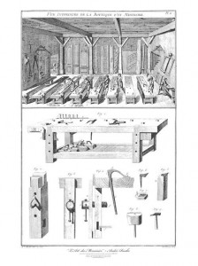 Inspiration is the first step in learning how to design furniture. Plate 11 should help.