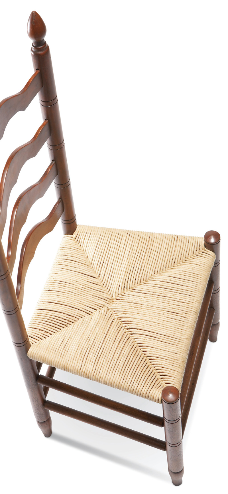Rush Seats Are Installed By Wrapping Twisted Strands Of Fiber Around Each  Corner Of A Chair In A Continuous Loop.