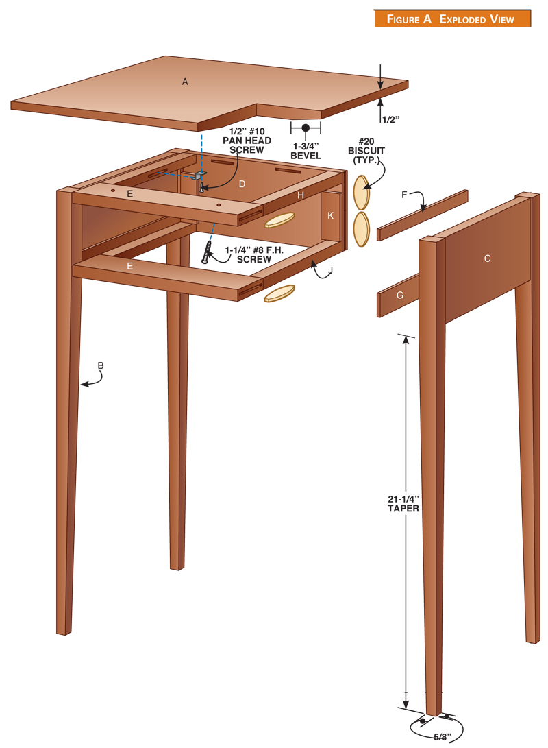 Shaker Table Popular Woodworking Magazine