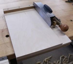 Simple shooting board
