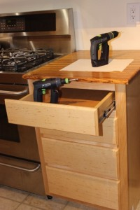 in-situ construction is perfect for anyone with a crowded woodshop