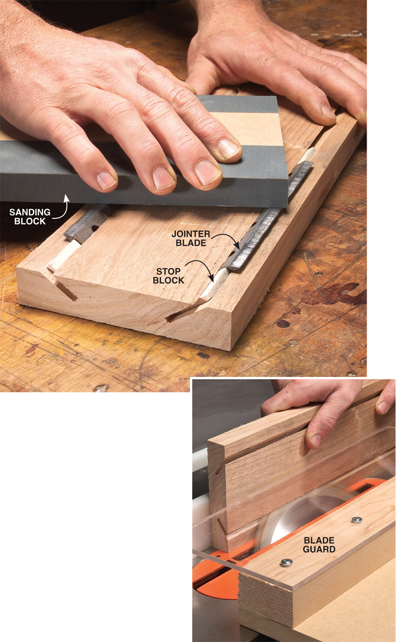 Aw Extra 8 16 12 Sharpening Jig For Jointer And Planer