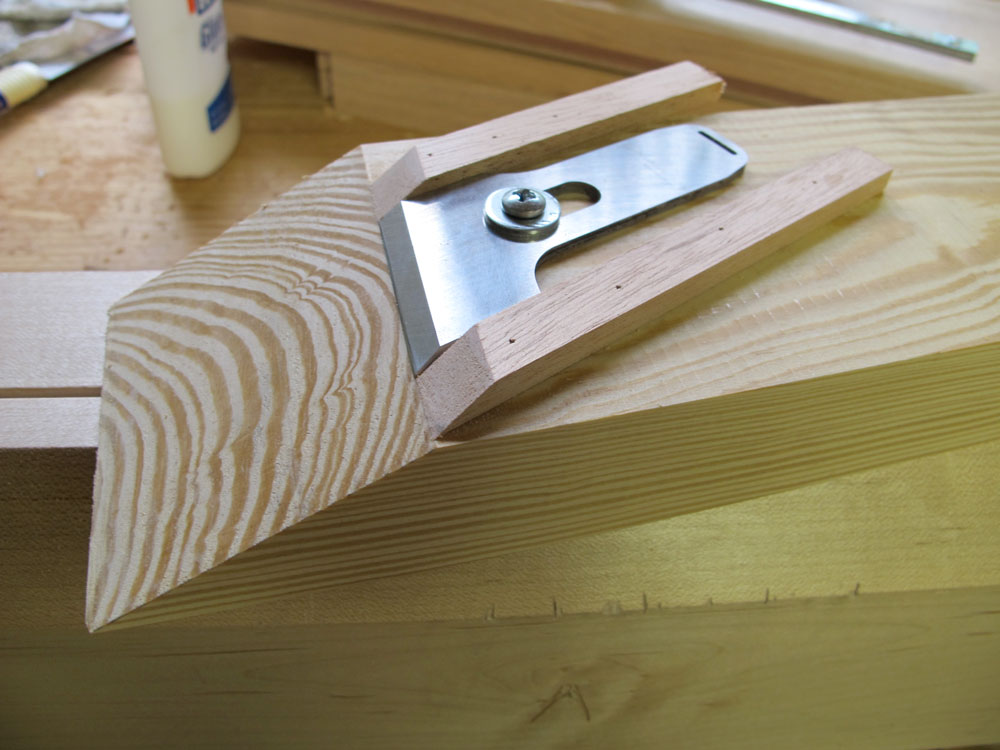 Correct the Skew on a Plane Blade or Chisel