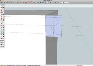 Moulding with SketchUp