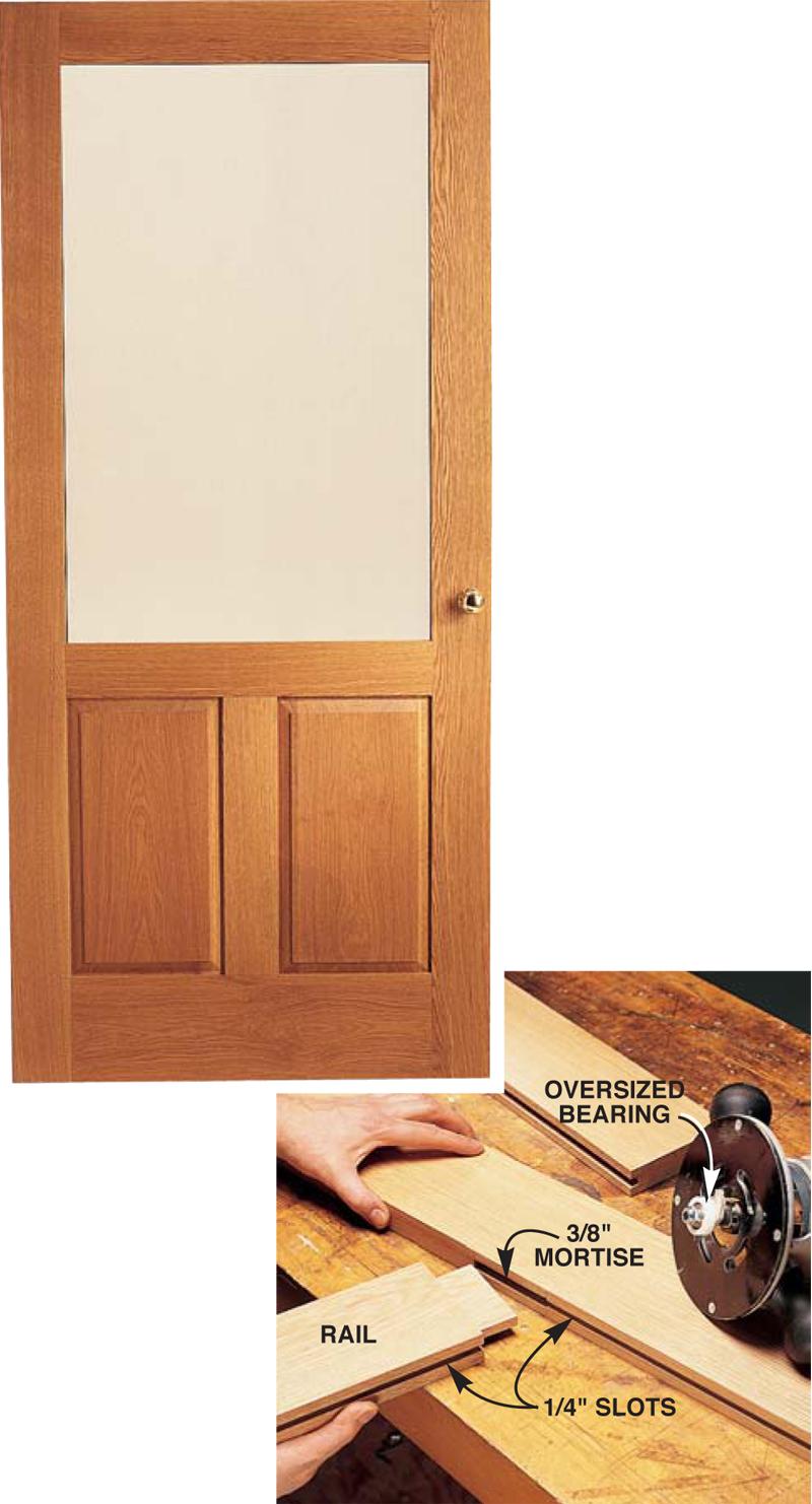 Wooden Storm Door Popular Woodworking Magazine