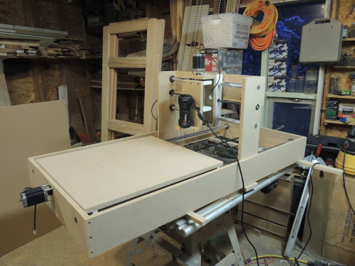 Here's one of the first completed projects in Build a CNC Router.