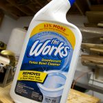 how to remove rust with toilet cleaner