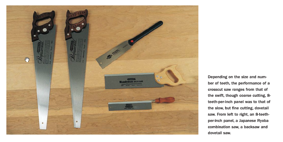 how to measure wood the right way, with the right saws for rough lengths