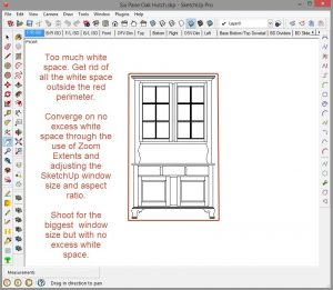 Printing to scale with SketchUp 2015