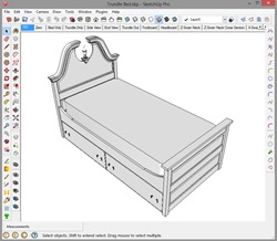 Printing to scale with SketchUp