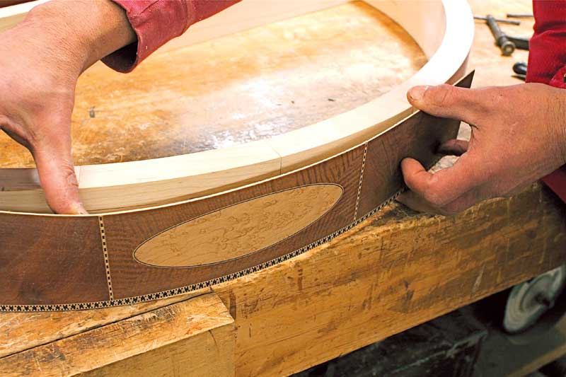 Veneering the Curve - Popular Woodworking Magazine