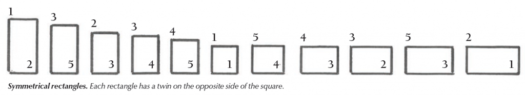 This is an image of simple ratios from our free PDF on furniture design, with articles by George Walker. You'll love how George simplifies this stuff!