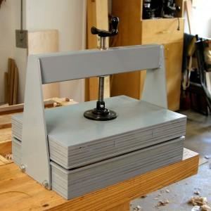 Coleman Veneer Press