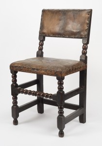 Cromwellian chair - Photo courtesy Winterthur