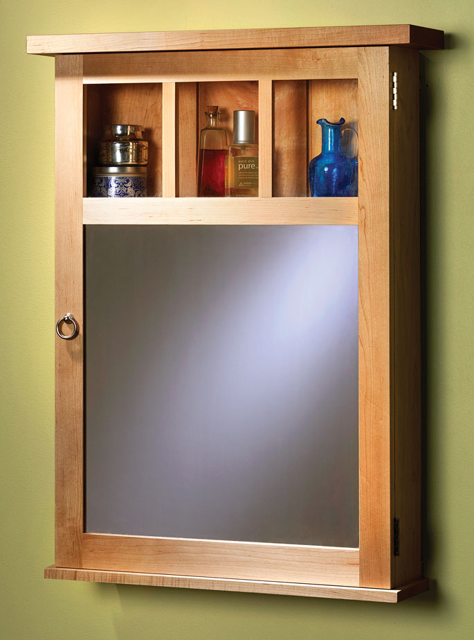 Contemporary Medicine Cabinet By Megan Fitzpatrick Popular Woodworking