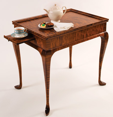 A Tailored Tea Table