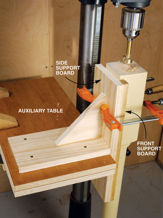 Vertical Drilling Jig Popular Woodworking Magazine