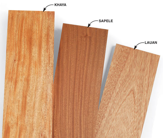 Mahogany and Its Look-Alikes - Popular Woodworking Magazine