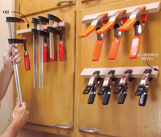 Cabinet Door Clamp Rack - Popular Woodworking Magazine