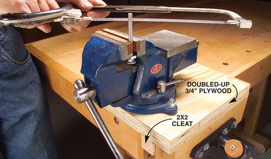Mobile Machinist's Vise - Popular Woodworking Magazine
