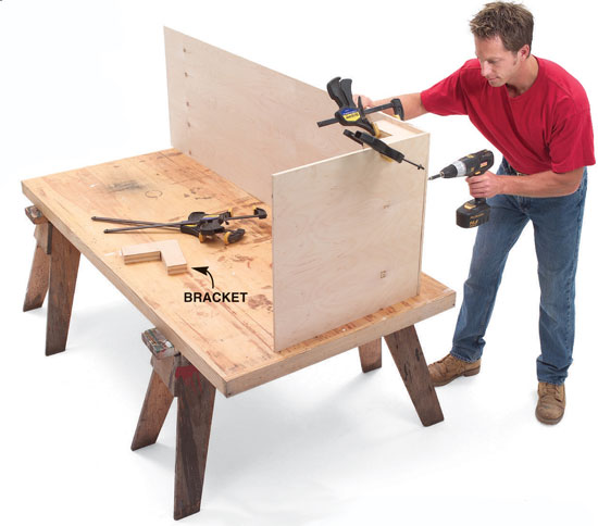 Working Alone With Plywood Popular Woodworking Magazine