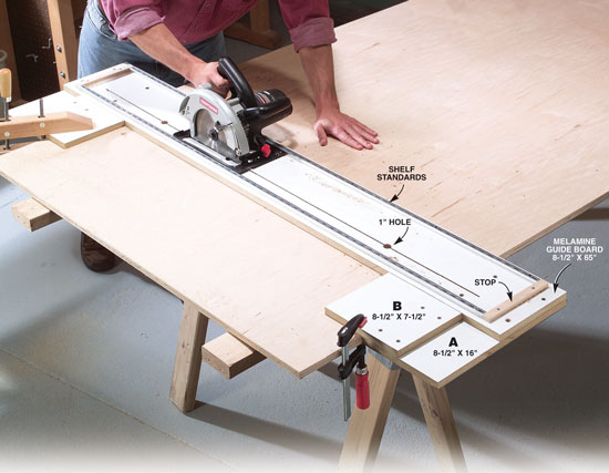 plywood guide