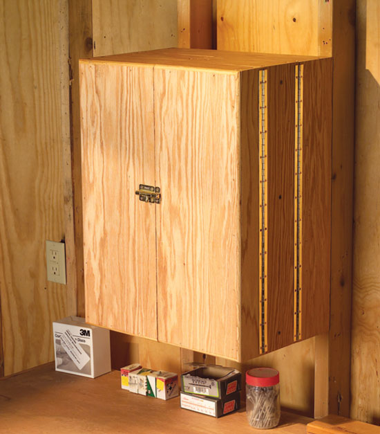 Pantry Door Tool Cabinet Popular Woodworking Magazine