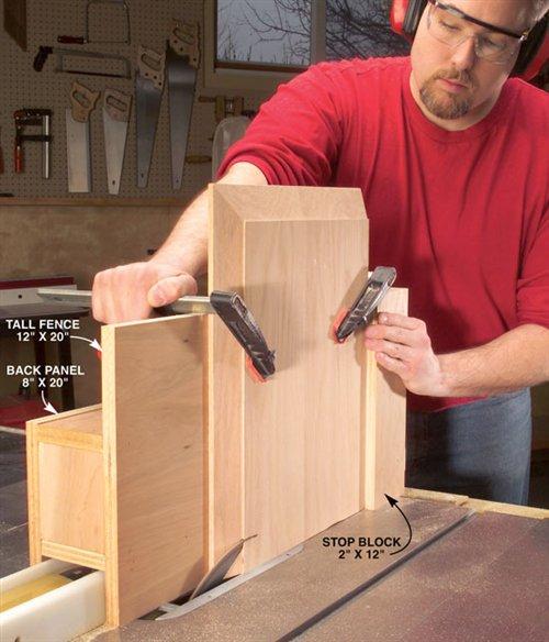 Raised Panel Tablesaw Jig Popular Woodworking Magazine