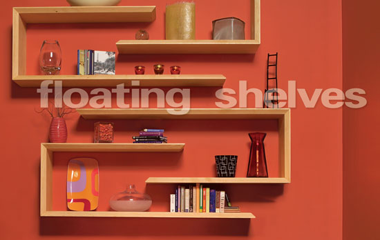 woodworking projects shelves