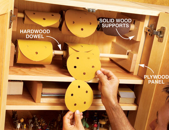 how to make a keyhole slot without a router