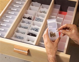 how to make a nail screw storage box