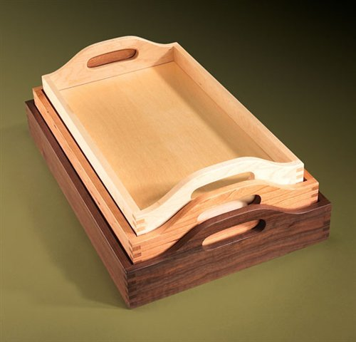 Nesting Trays - Popular Woodworking Magazine