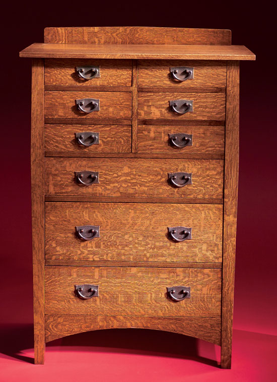 Stickley Chest Of Drawers Popular Woodworking Magazine
