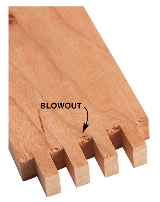 Tablesaw Box Joints - Popular Woodworking Magazine