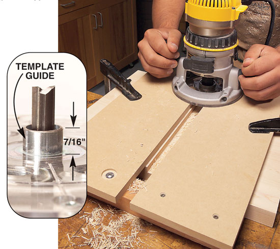 Universal router edge guide and mortise jig | jays custom creations.