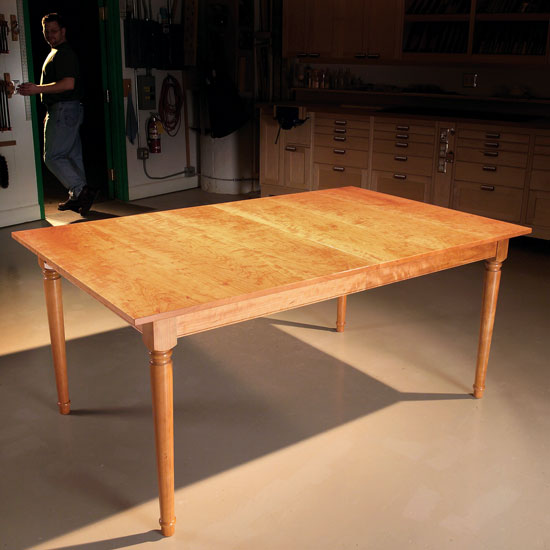 Aw Extra Extending Dining Table Popular Woodworking