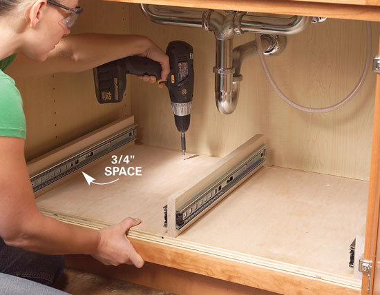 caulk for installing faucet
