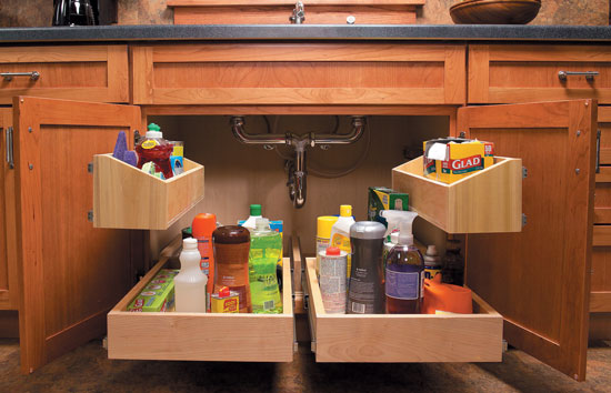 3 kitchen storage projects popular woodworking magazine. Black Bedroom Furniture Sets. Home Design Ideas