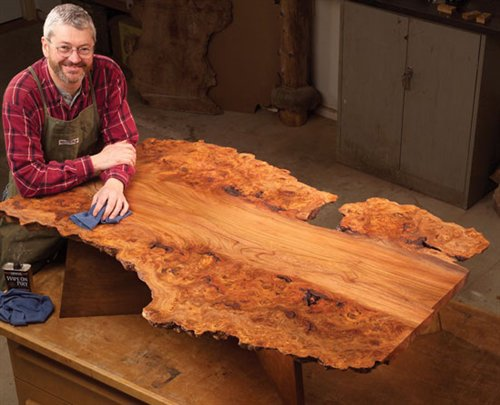 Trophy Coffee Table - Popular Woodworking Magazine