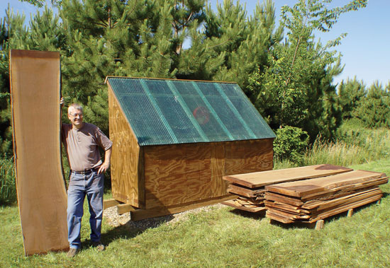 Solar Kiln - Popular Woodworking Magazine
