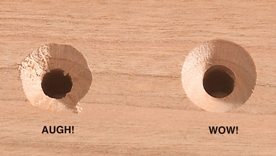 Smooth-As-Silk Perfect Countersink - Popular Woodworking Magazine