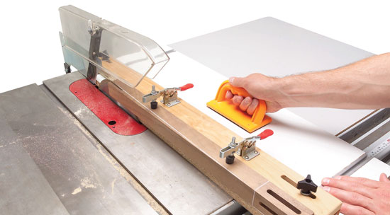 how to cut a tapered board on a table saw 2