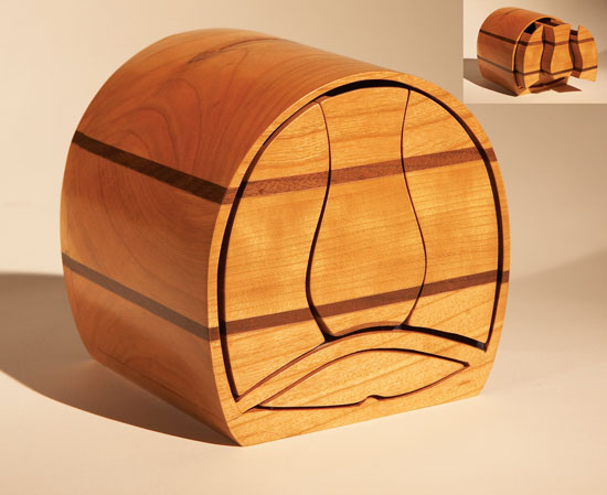 Push-Button Bandsaw Box - Popular Woodworking Magazine